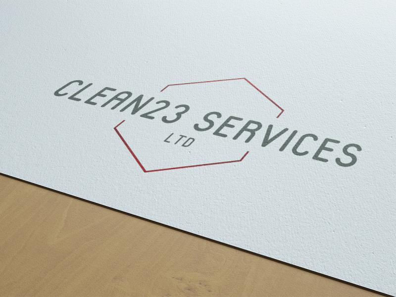Clean23 Services Ltd Branding and Stationery