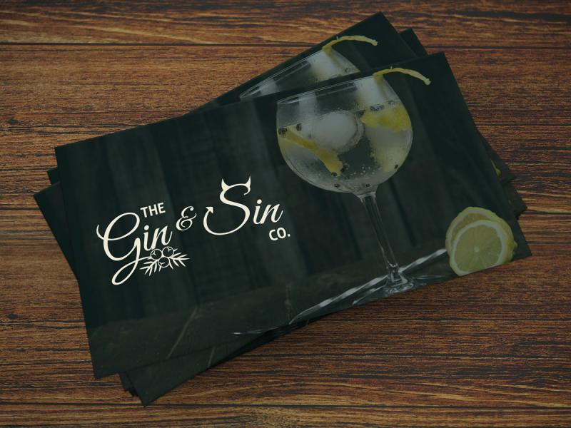 The Gin & Sin Co Branding