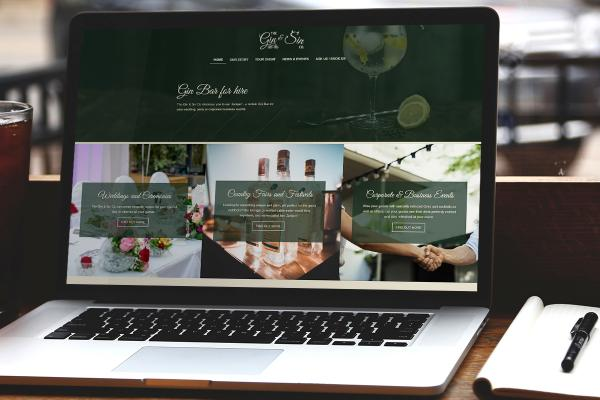 The Gin & Sin Co Website