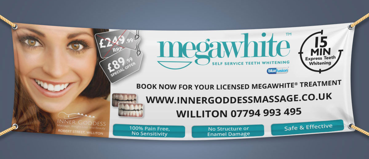 PVC Banner printing and design Minehead