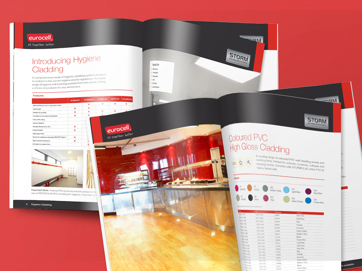 professional catalogue design minehead west somerset